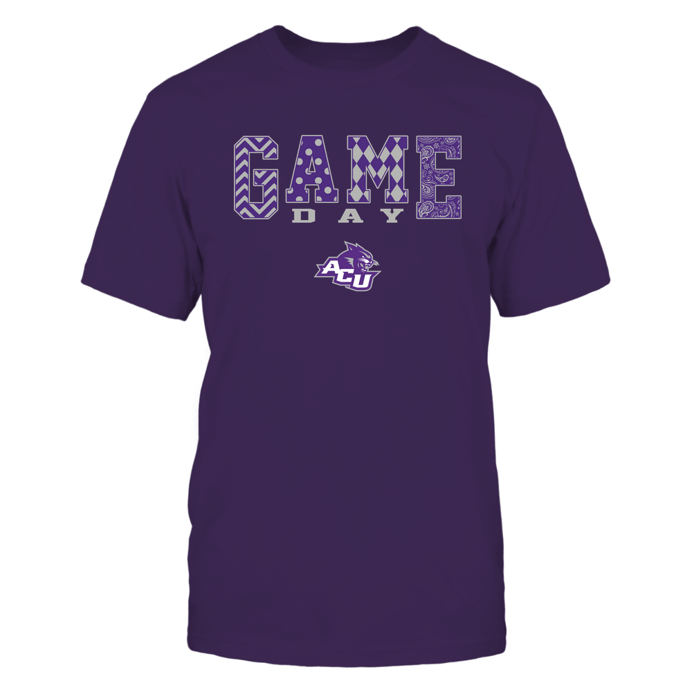Abilene Christian Wildcats - 19080610109 - Game Day Pattern - IF-IC13-DS84 Front picture