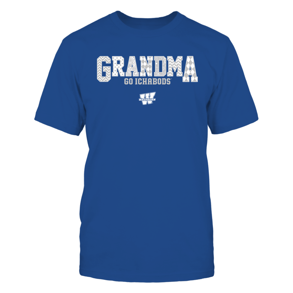 Washburn Ichabods - 19070910462 - Grandma - Slogan- Patterned - IF13-IC13-DS45 Front picture