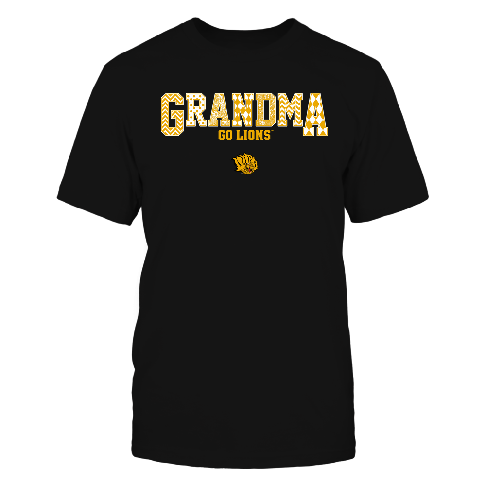 Arkansas Pine Bluff Golden Lions - 19070910462 - Grandma - Slogan- Patterned - IF13-IC13-DS45 Front picture