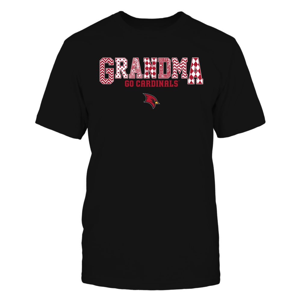 Saginaw Valley State Cardinals - 19070910462 - Grandma - Slogan- Patterned - IF13-IC13-DS45 Front picture