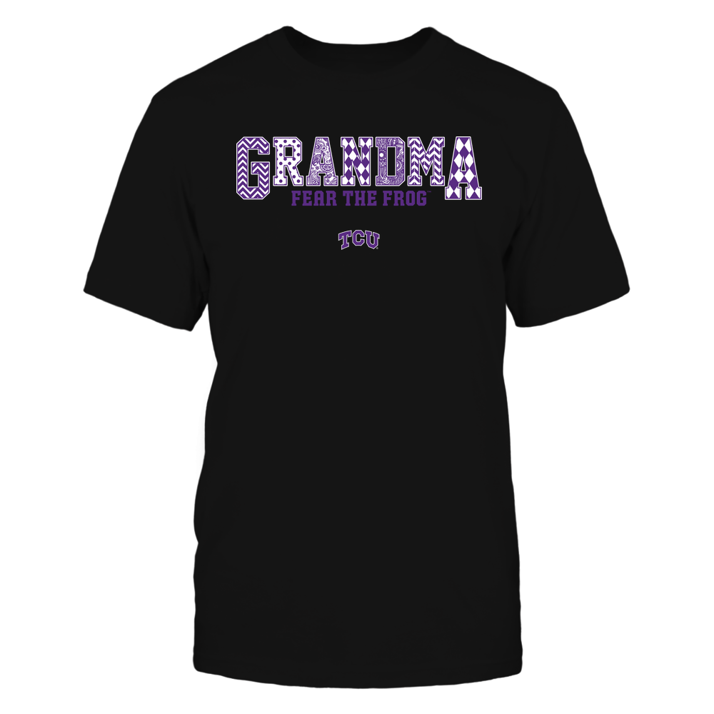 TCU Horned Frogs - 19070910462 - Grandma - Slogan- Patterned - IF13-IC13-DS45 Front picture