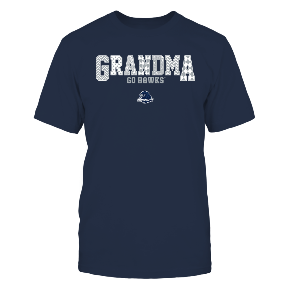 Monmouth Hawks - 19070910462 - Grandma - Slogan- Patterned - IF13-IC13-DS45 Front picture