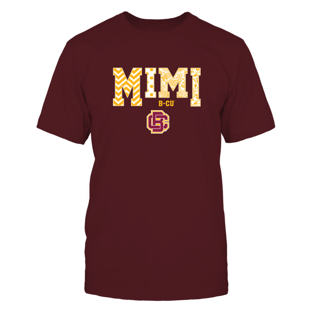 Bethune-Cookman Wildcats - 19070910463 - Mimi - Slogan- Patterned - IF13-IC13-DS27 Front picture