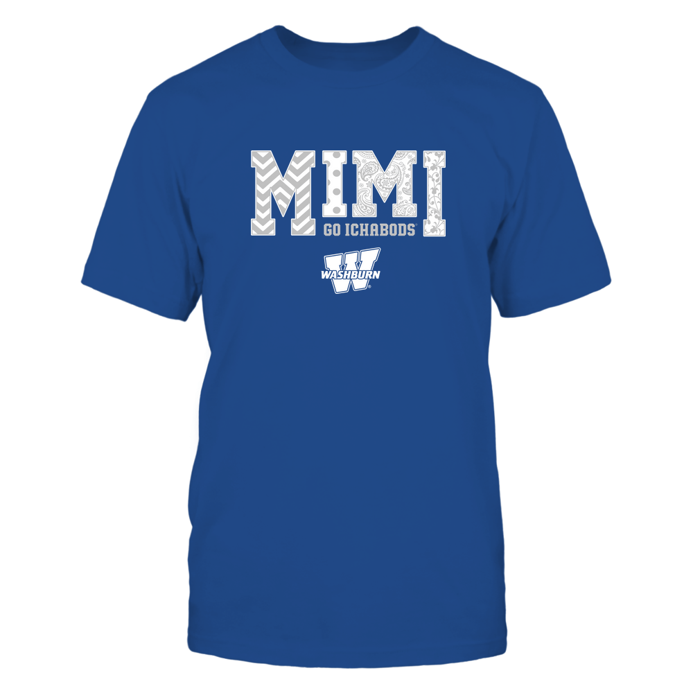 Washburn Ichabods - 19070910463 - Mimi - Slogan- Patterned - IF13-IC13-DS27 Front picture