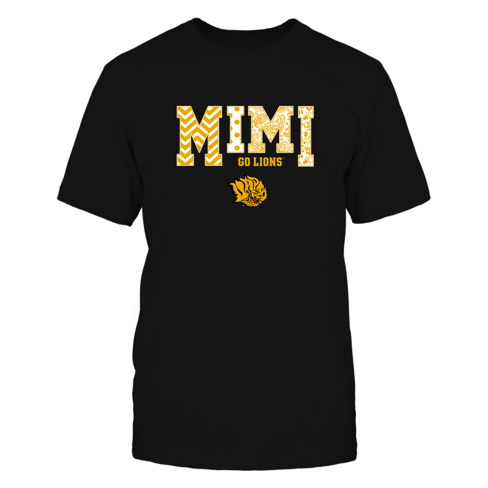 Arkansas Pine Bluff Golden Lions - 19070910463 - Mimi - Slogan- Patterned - IF13-IC13-DS27 Front picture