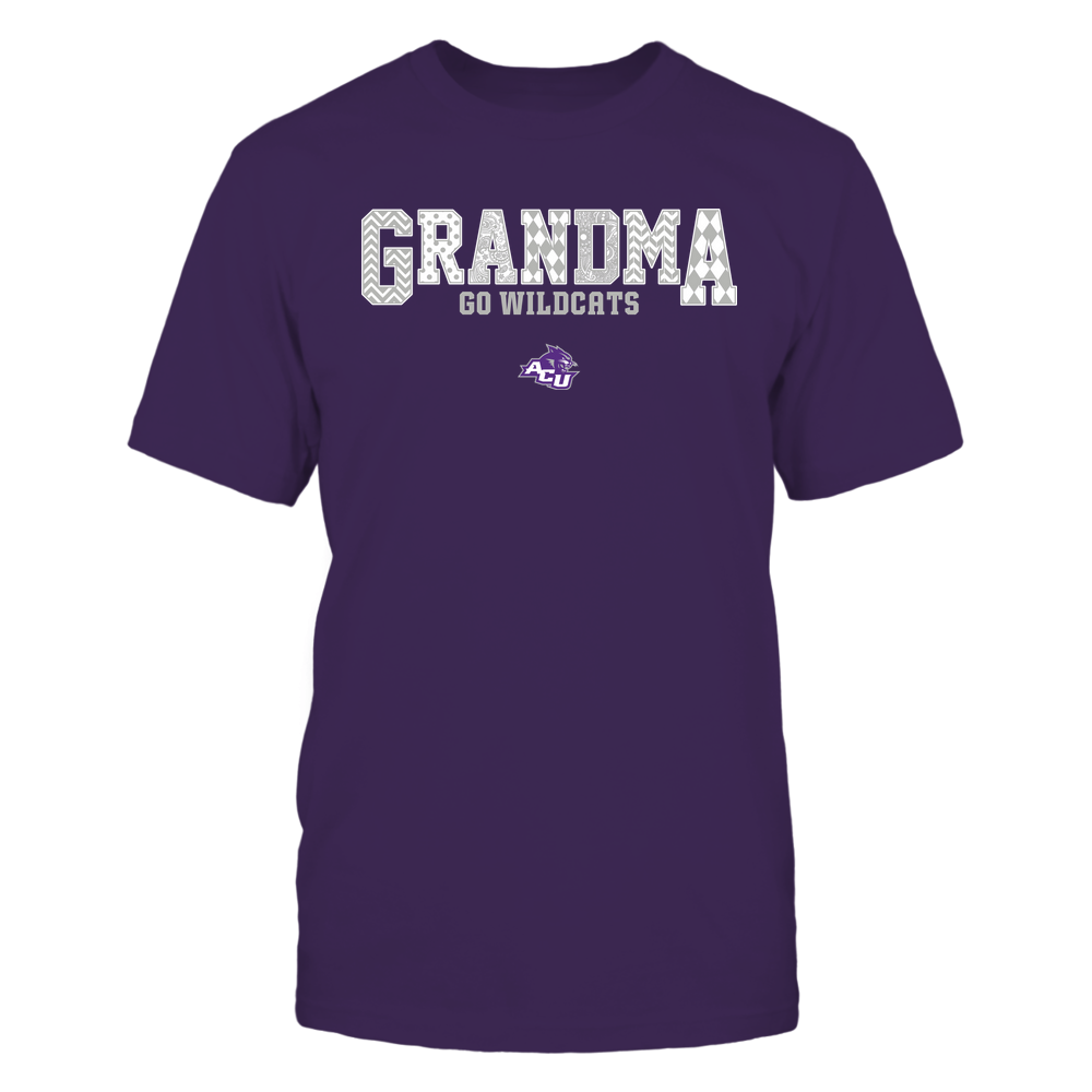 Abilene Christian Wildcats - 19070910462 - Grandma - Slogan- Patterned - IF13-IC13-DS45 Front picture