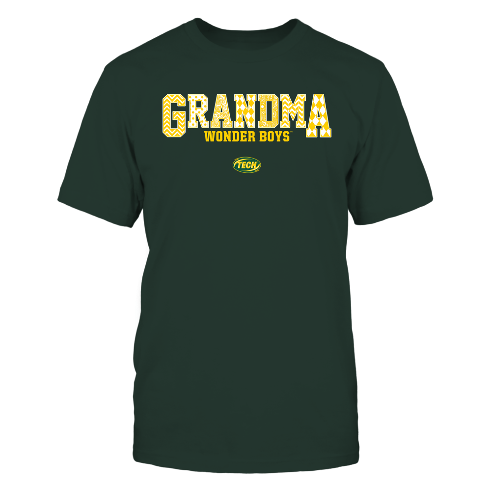 Arkansas Tech Golden Suns - 19070910462 - Grandma - Slogan- Patterned - IF13-IC13-DS45 Front picture