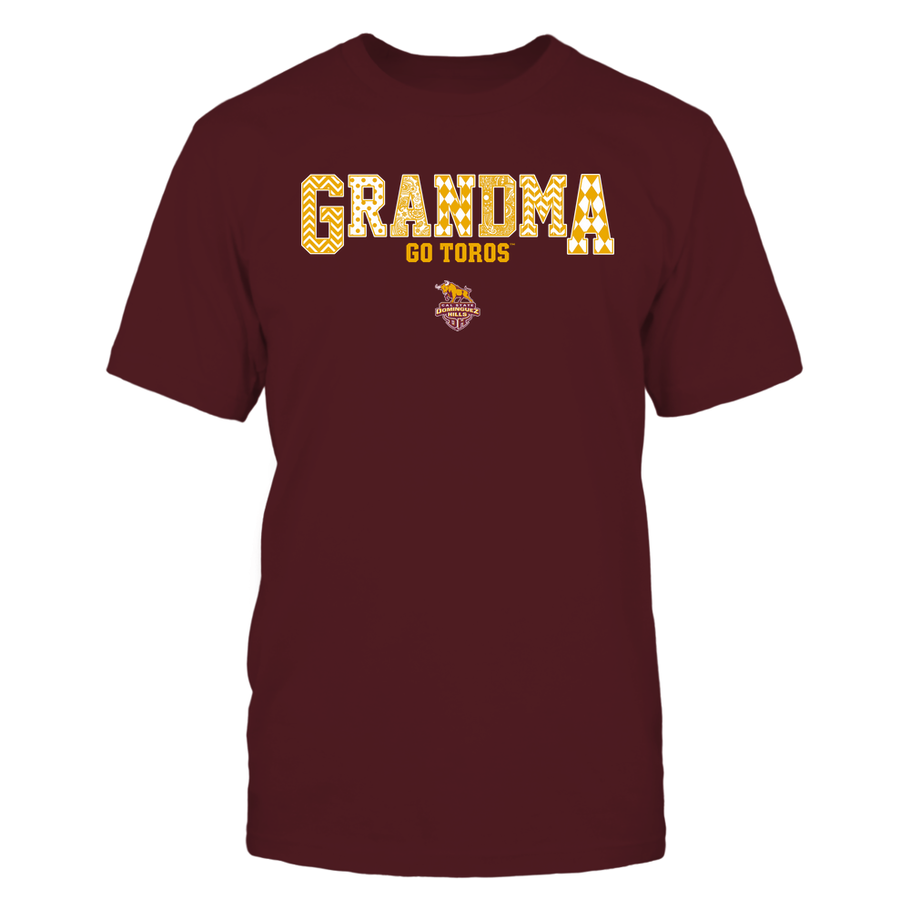 Cal State Dominguez Hills Toros - 19070910462 - Grandma - Slogan- Patterned - IF13-IC13-DS45 Front picture