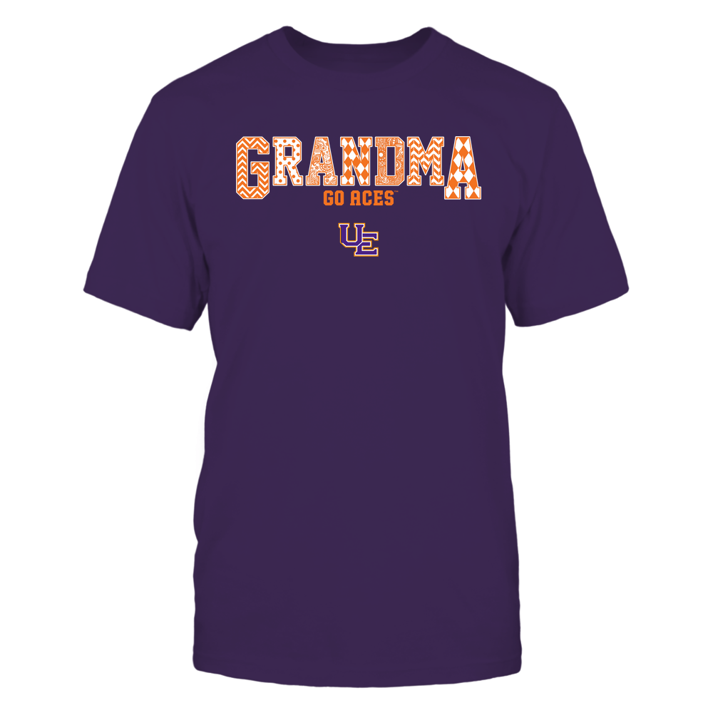 Evansville Purple Aces - 19070910462 - Grandma - Slogan- Patterned - IF13-IC13-DS45 Front picture