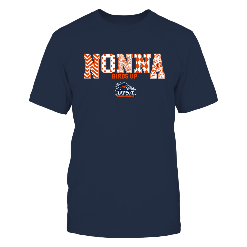 UTSA Roadrunners - 19070910464 - Nonna - Slogan- Patterned - IF13-IC13-DS27 Front picture