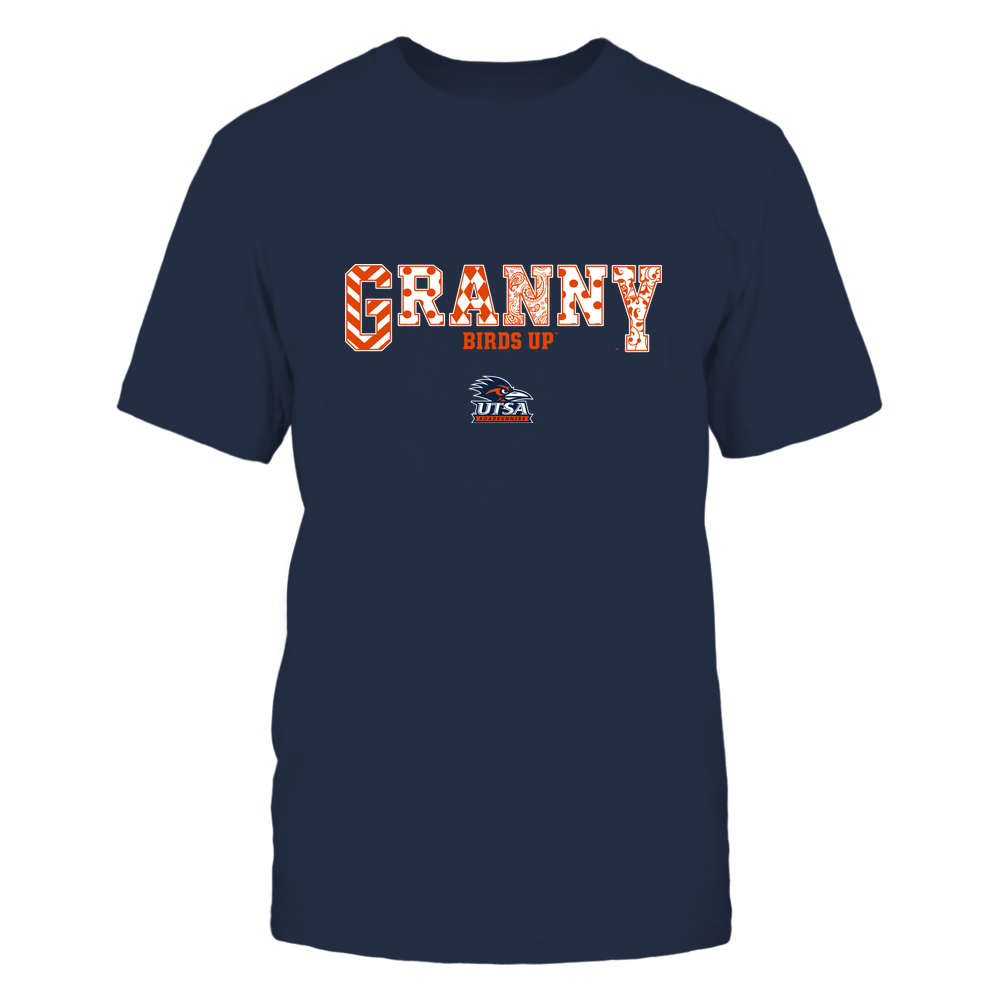 UTSA Roadrunners - 19070910466 - Granny - Slogan- Patterned - IF13-IC13-DS63 Front picture
