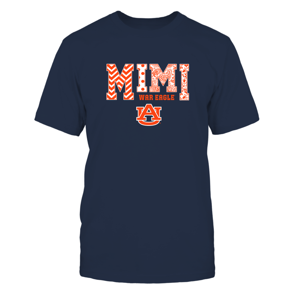 Auburn Tigers - 19070910463 - Mimi - Slogan- Patterned - IF13-IC13-DS27 Front picture