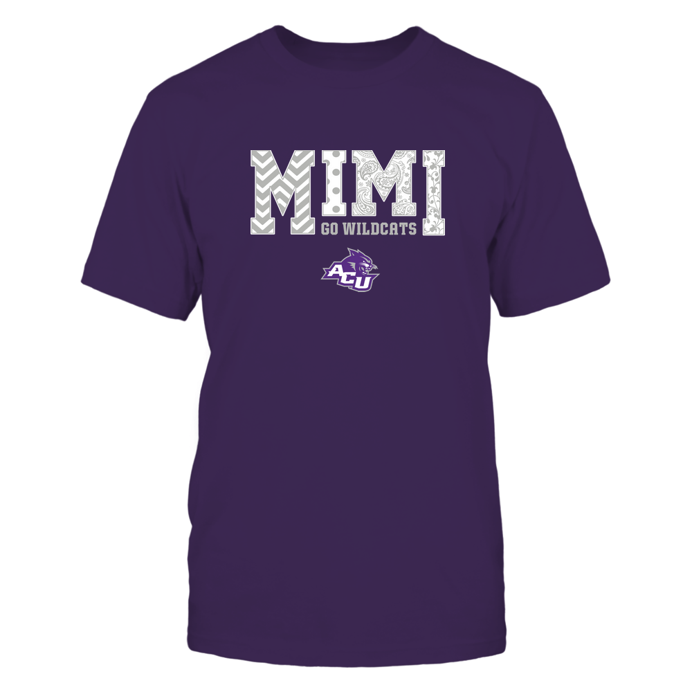 Abilene Christian Wildcats - 19070910463 - Mimi - Slogan- Patterned - IF13-IC13-DS27 Front picture