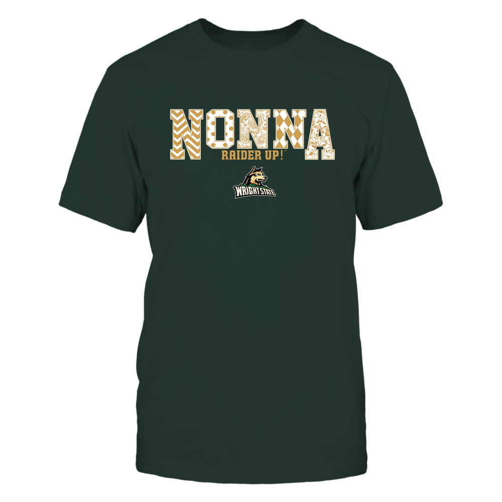 Wright State Raiders - 19070910464 - Nonna - Slogan- Patterned - IF13-IC13-DS27 Front picture