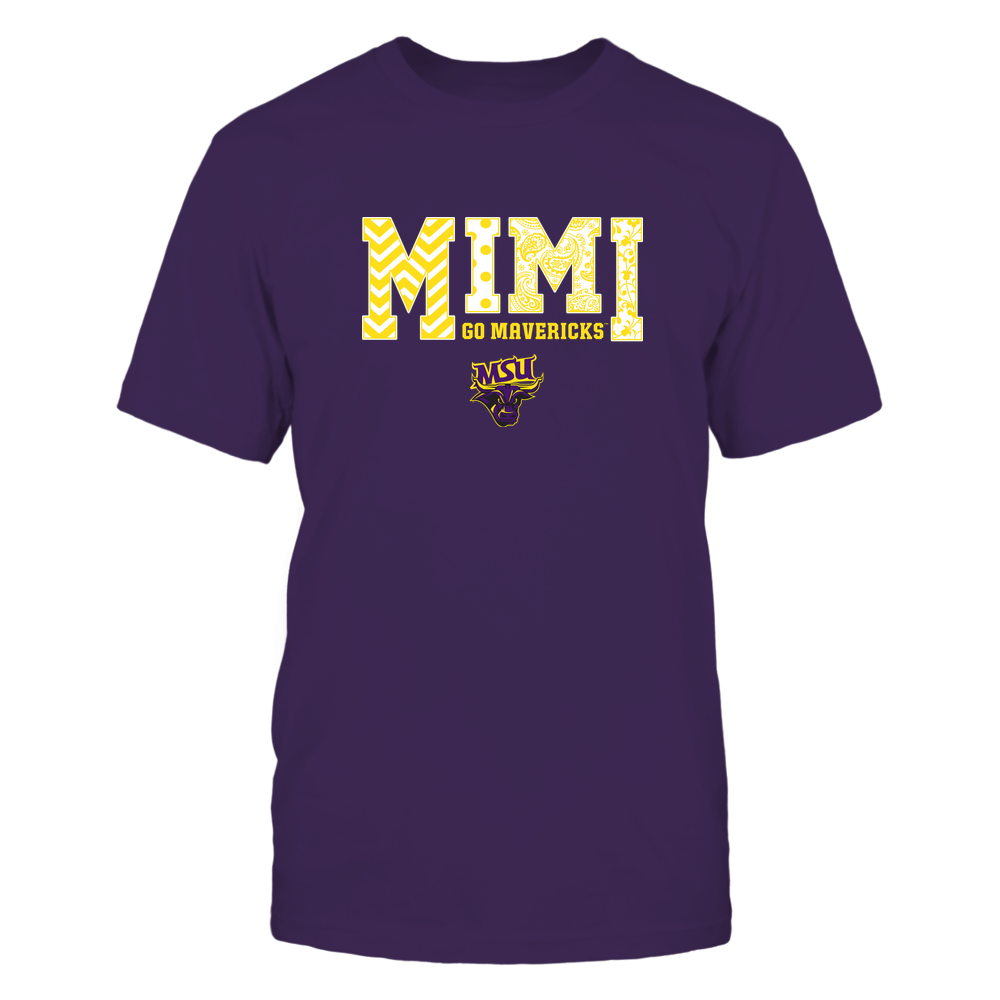 Minnesota State Mavericks - 19070910463 - Mimi - Slogan- Patterned - IF13-IC13-DS27 Front picture