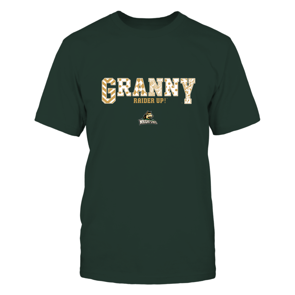 Wright State Raiders - 19070910466 - Granny - Slogan- Patterned - IF13-IC13-DS63 Front picture