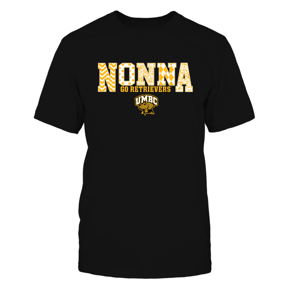 UMBC Retrievers - 19070910464 - Nonna - Slogan- Patterned - IF13-IC13-DS27 Front picture