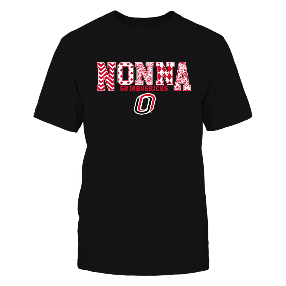 Nebraska Omaha Mavericks - 19070910464 - Nonna - Slogan- Patterned - IF13-IC13-DS27 Front picture