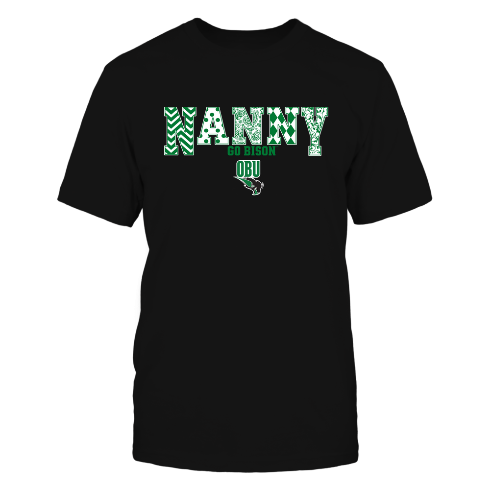 Oklahoma Baptist Bison - 19070910465 - Nanny - Slogan- Patterned - IF13-IC13-DS27 Front picture