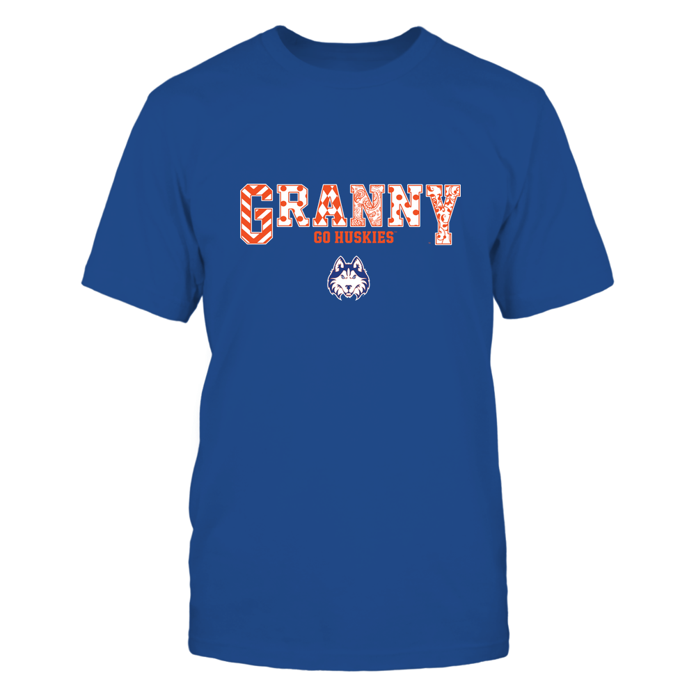 Houston Baptist Huskies - 19070910466 - Granny - Slogan- Patterned - IF13-IC13-DS63 Front picture