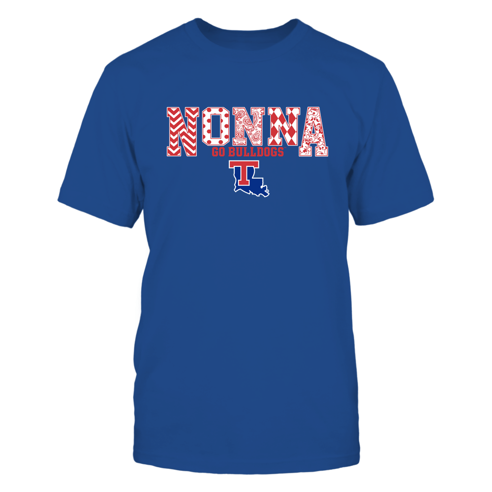 Louisiana Tech Bulldogs - 19070910464 - Nonna - Slogan- Patterned - IF13-IC13-DS27 Front picture