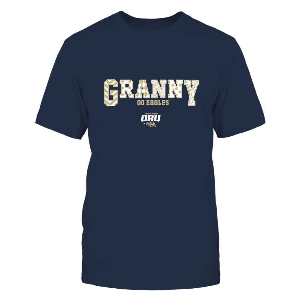 Oral Roberts Golden Eagles - 19070910466 - Granny - Slogan- Patterned - IF13-IC13-DS63 Front picture