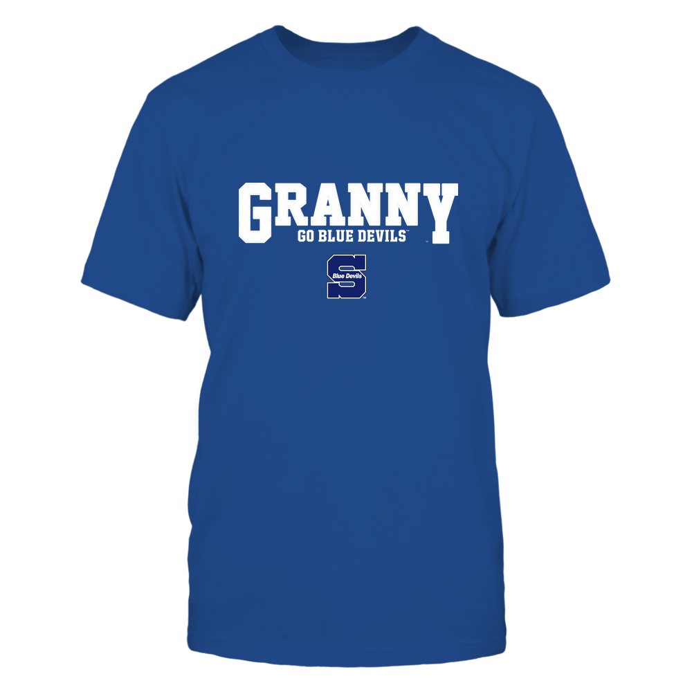 Wisconsin Stout Blue Devils - 19070910466 - Granny - Slogan- Patterned - IF13-IC13-DS63 Front picture