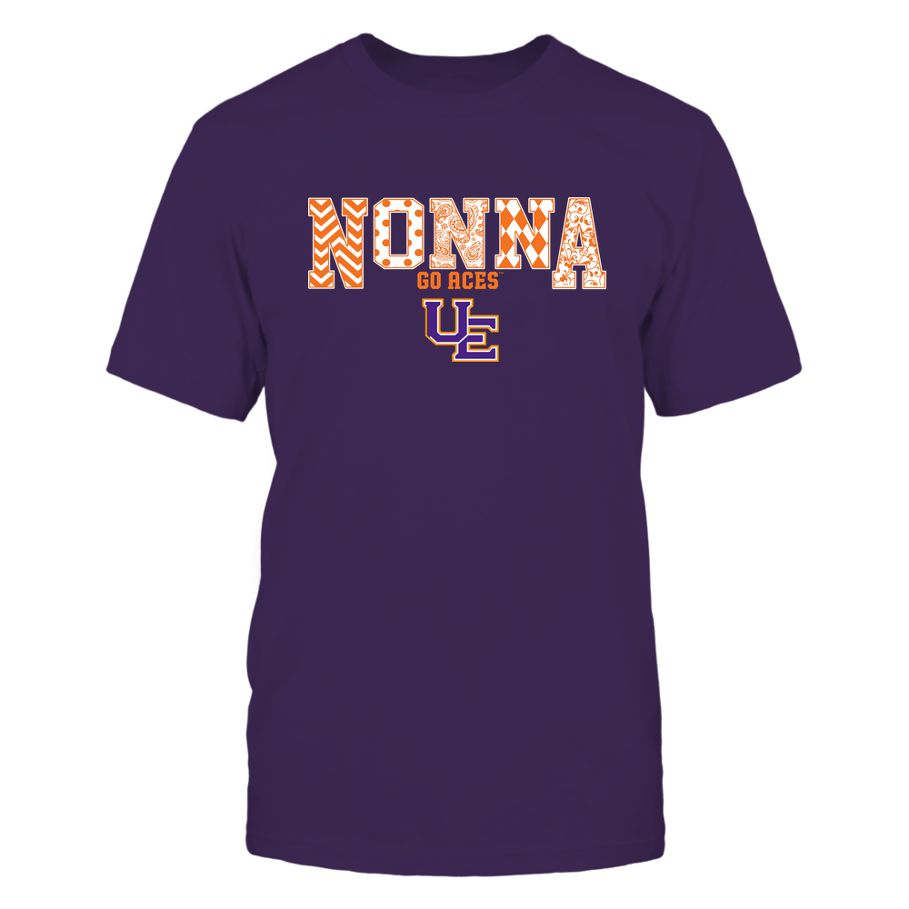 Evansville Purple Aces - 19070910464 - Nonna - Slogan- Patterned - IF13-IC13-DS27 Front picture