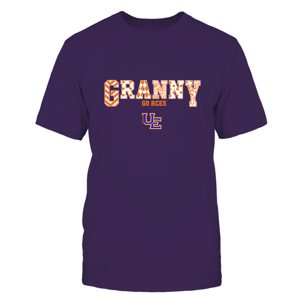 Evansville Purple Aces - 19070910466 - Granny - Slogan- Patterned - IF13-IC13-DS63 Front picture