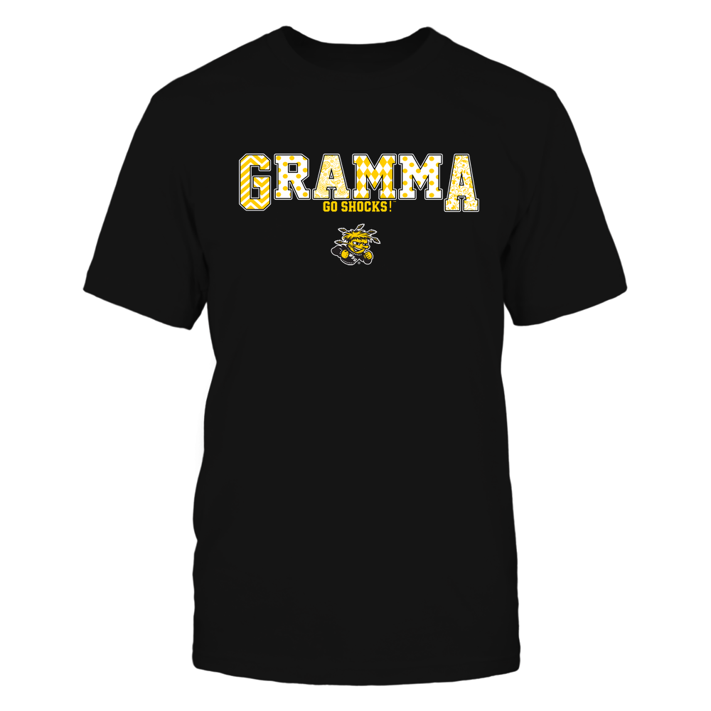 Wichita State Shockers - 19070910468 - Gramma - Slogan- Patterned - IF13-IC13-DS75 Front picture
