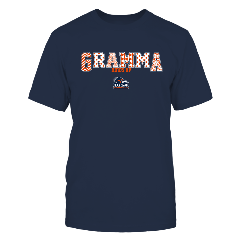 UTSA Roadrunners - 19070910468 - Gramma - Slogan- Patterned - IF13-IC13-DS75 Front picture
