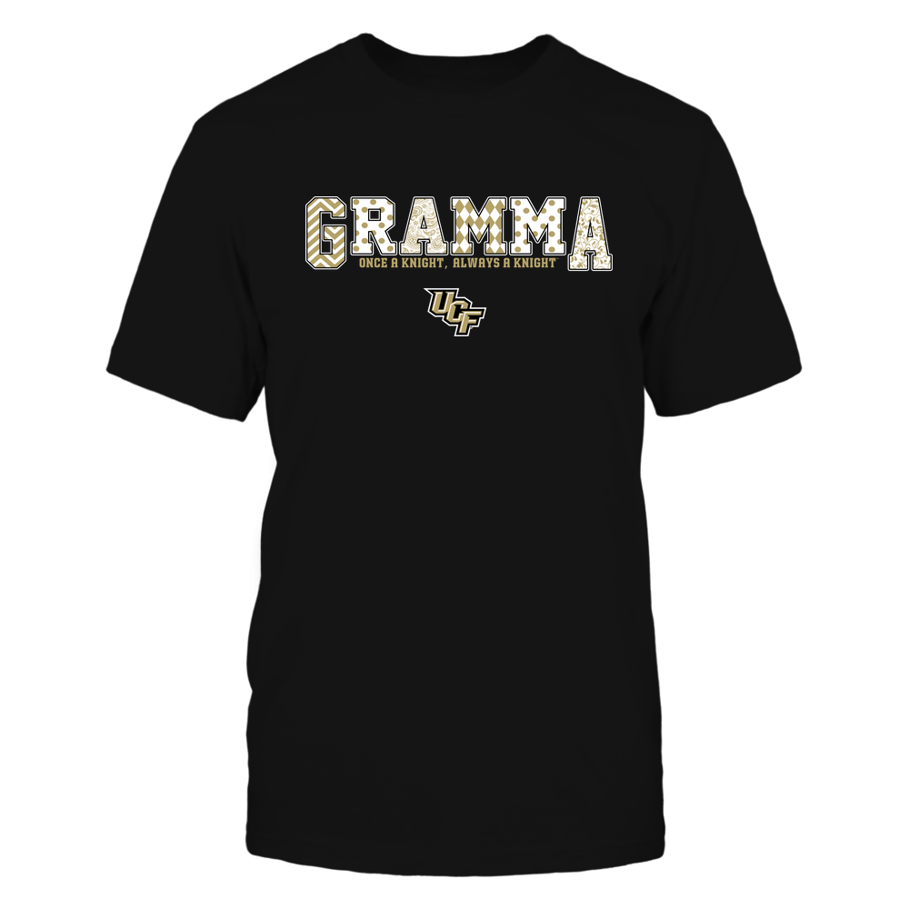 UCF Knights - 19070910468 - Gramma - Slogan- Patterned - IF13-IC13-DS75 Front picture