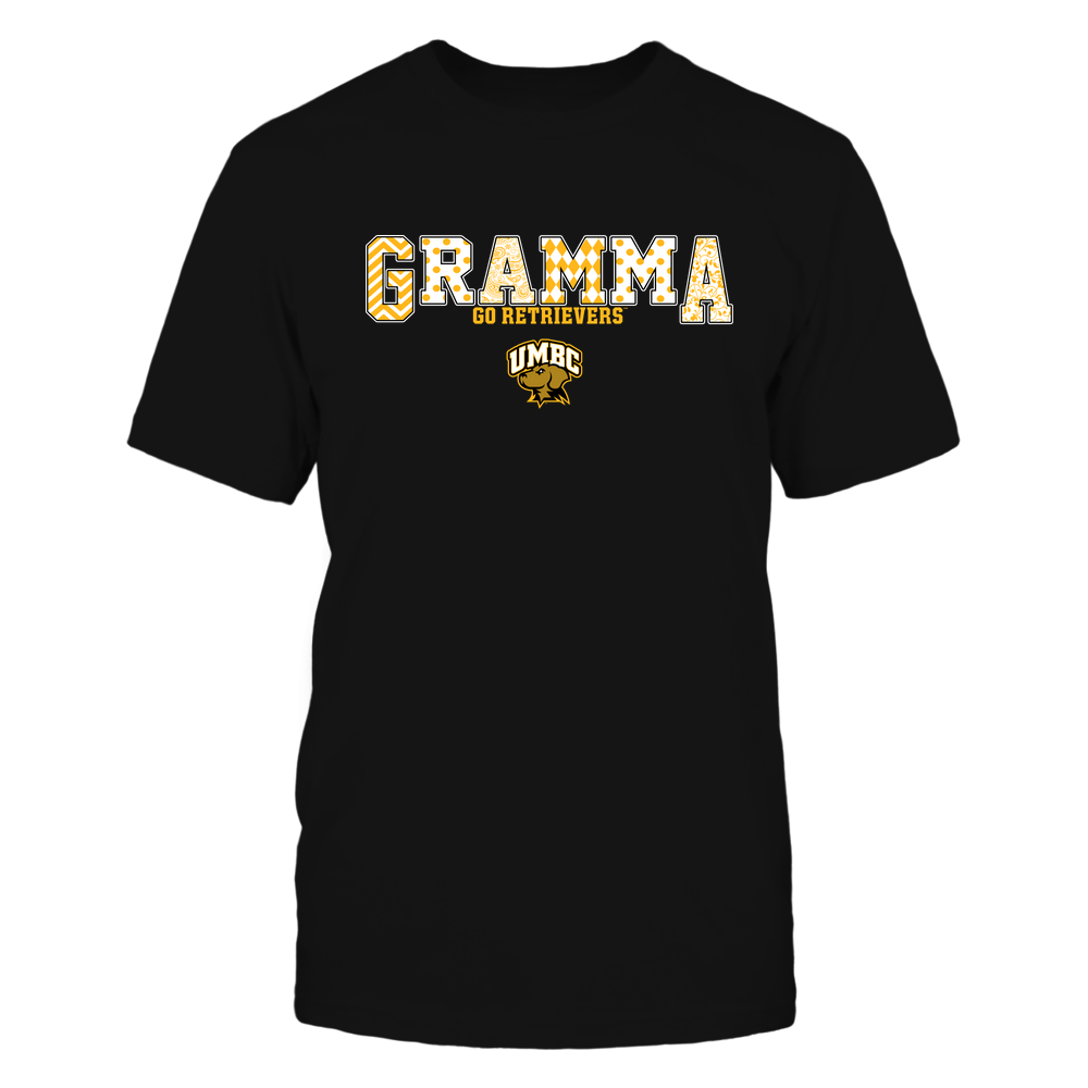 UMBC Retrievers - 19070910468 - Gramma - Slogan- Patterned - IF13-IC13-DS75 Front picture