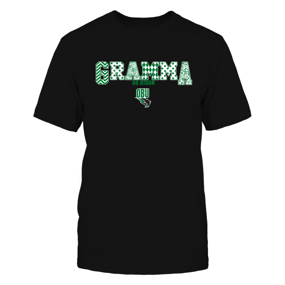 Oklahoma Baptist Bison - 19070910468 - Gramma - Slogan- Patterned - IF13-IC13-DS75 Front picture