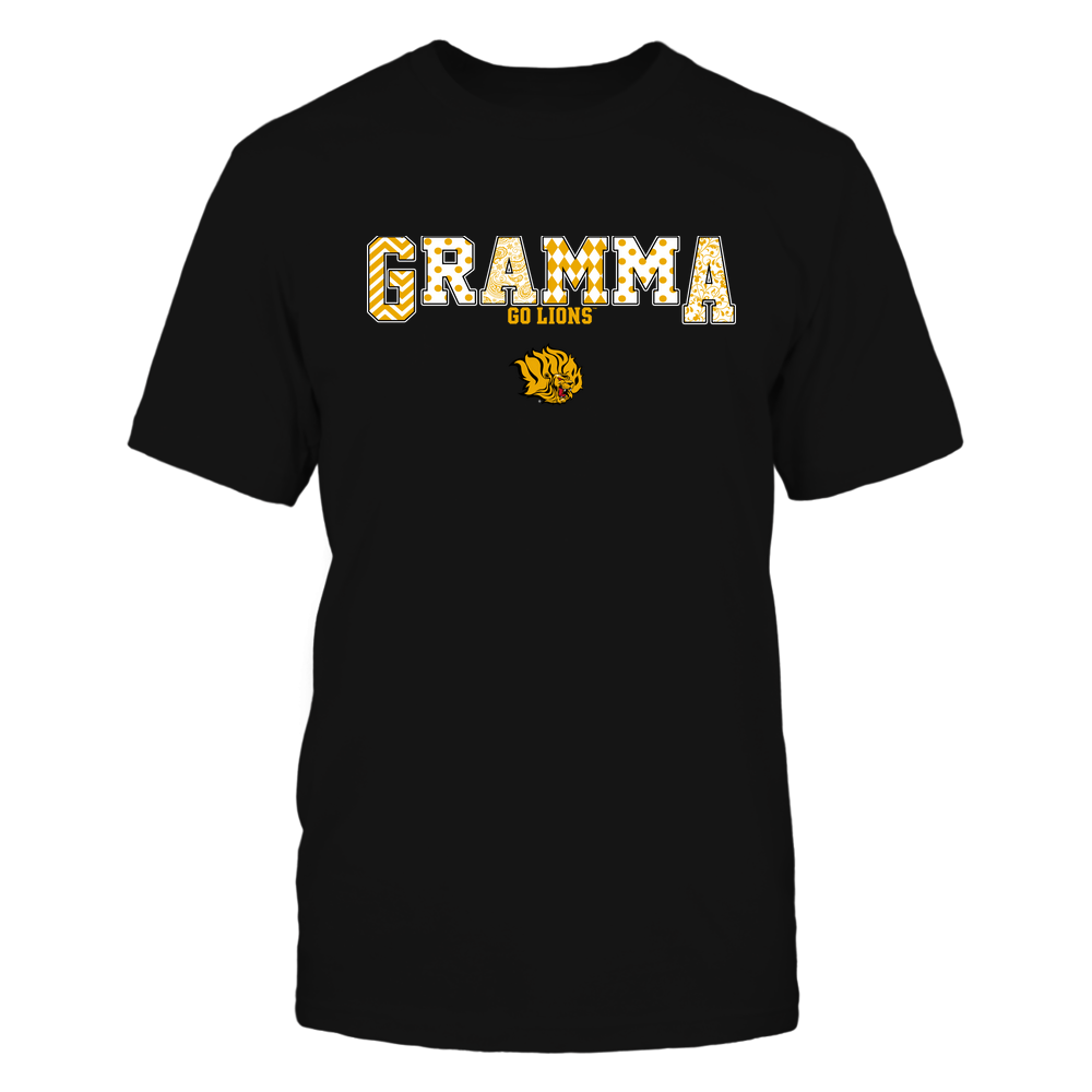 Arkansas Pine Bluff Golden Lions - 19070910468 - Gramma - Slogan- Patterned - IF13-IC13-DS75 Front picture