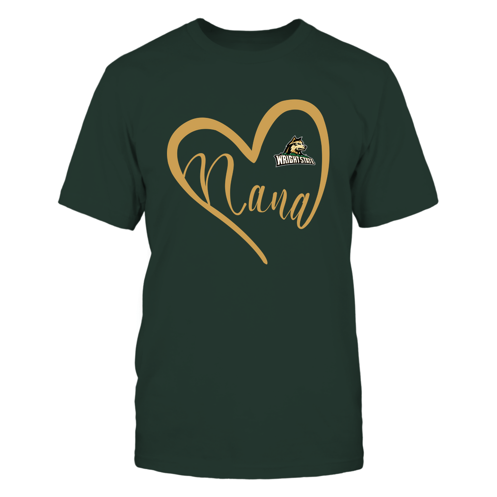 Wright State Raiders - 19070910110 - Heart Nana - IF13-IC13-DS45 Front picture