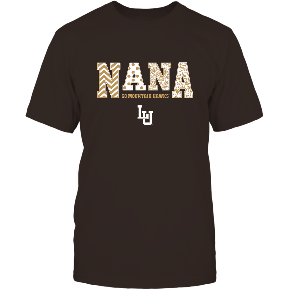 Lehigh Mountain Hawks - 19070910513 - Nana - Slogan - Patterned - IF13-IC13-DS45 Front picture