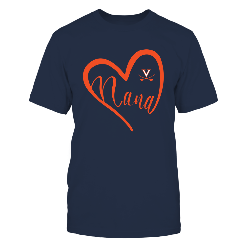 Virginia Cavaliers - 19070910110 - Heart Nana - IF13-IC13-DS45 Front picture