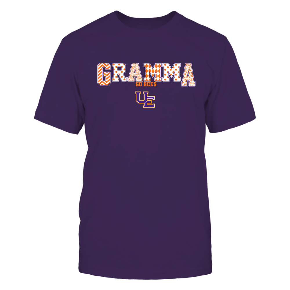 Evansville Purple Aces - 19070910468 - Gramma - Slogan- Patterned - IF13-IC13-DS75 Front picture