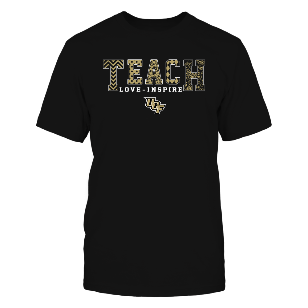 UCF Knights - 19082210336 - Teach Love Inspire - Slogan Pattern - IF17-IC17-DS27 Front picture