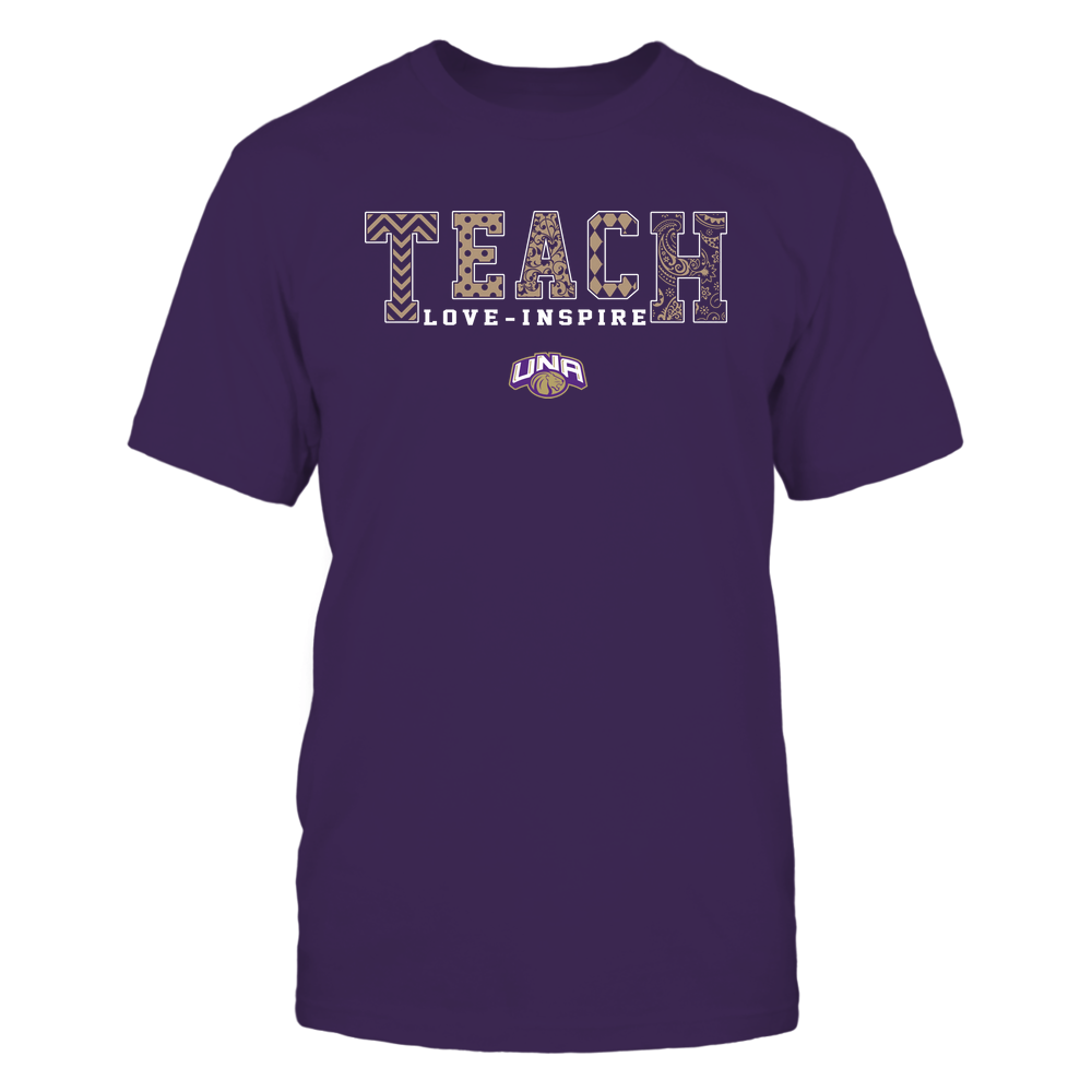 North Alabama Lions - 19082210336 - Teach Love Inspire - Slogan Pattern - IF17-IC17-DS27 - APCX Front picture