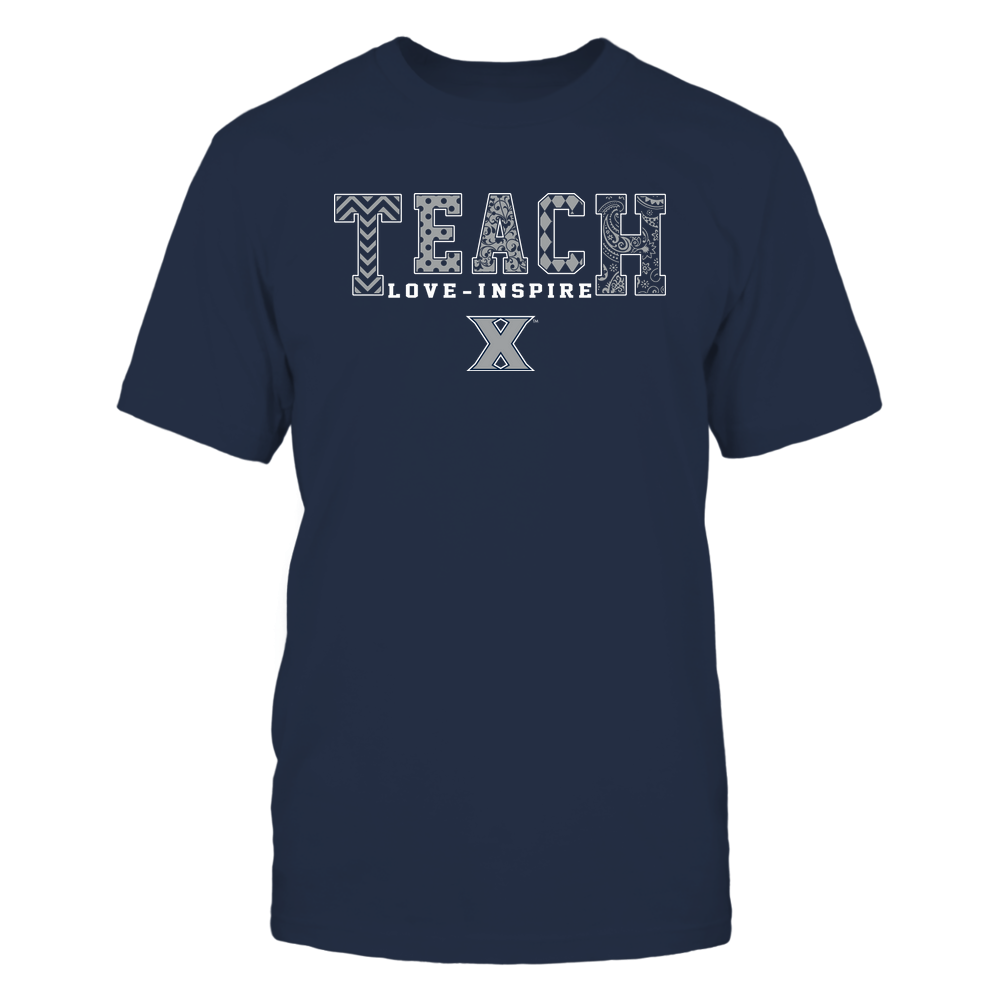 Xavier Musketeers - 19082210336 - Teach Love Inspire - Slogan Pattern - IF17-IC17-DS27 Front picture