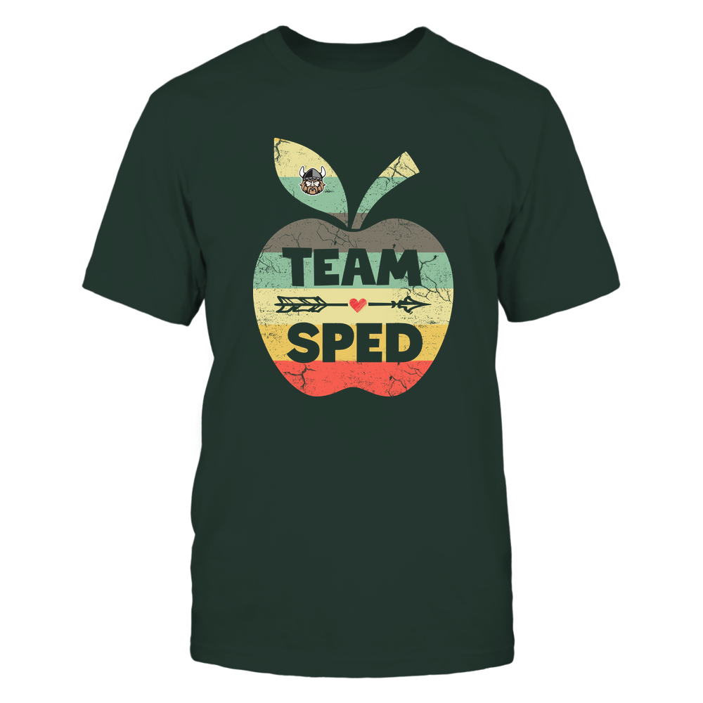 Cleveland State Vikings - Team SPED - Apple Vintage Front picture