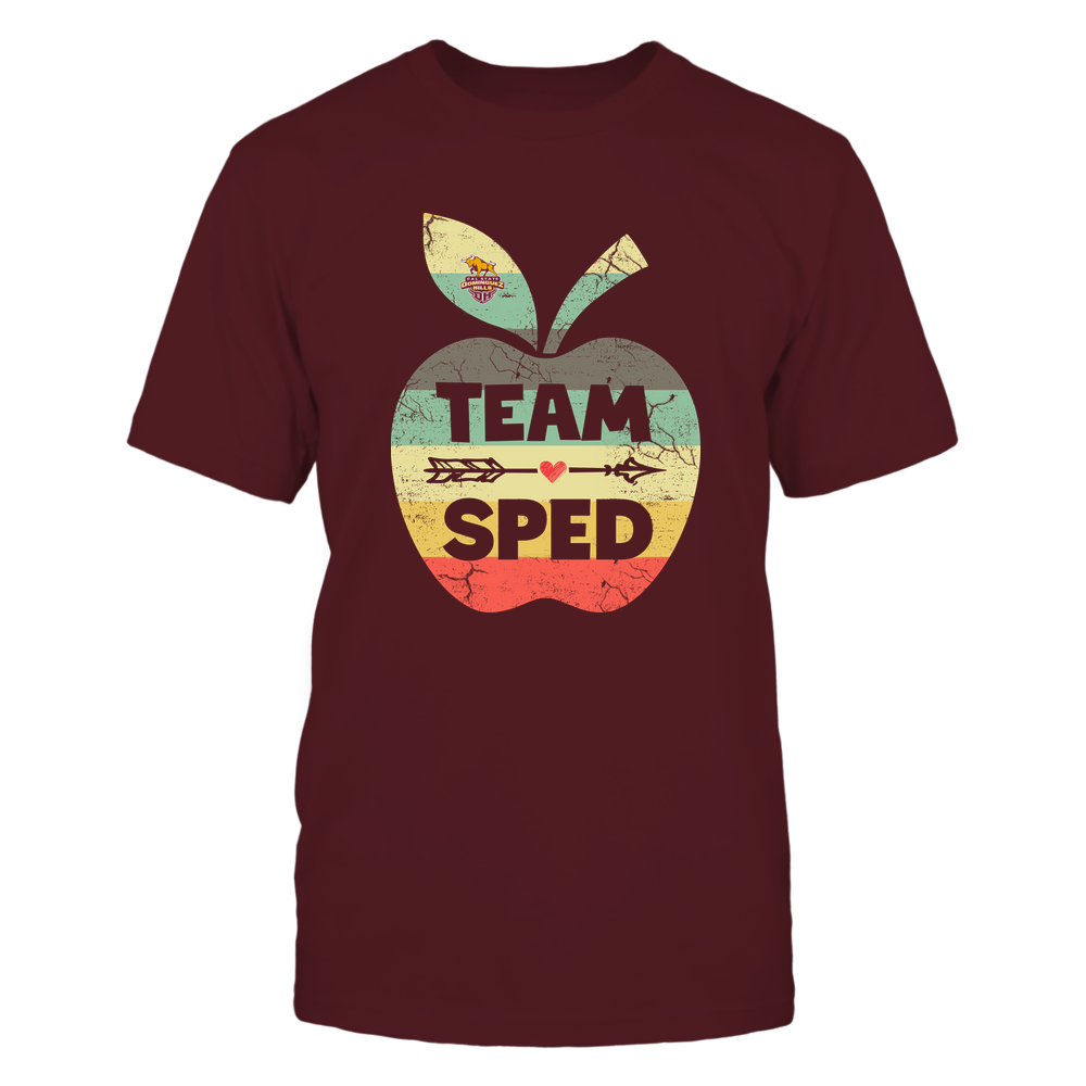 Cal State Dominguez Hills Toros - Team SPED - Apple Vintage Front picture
