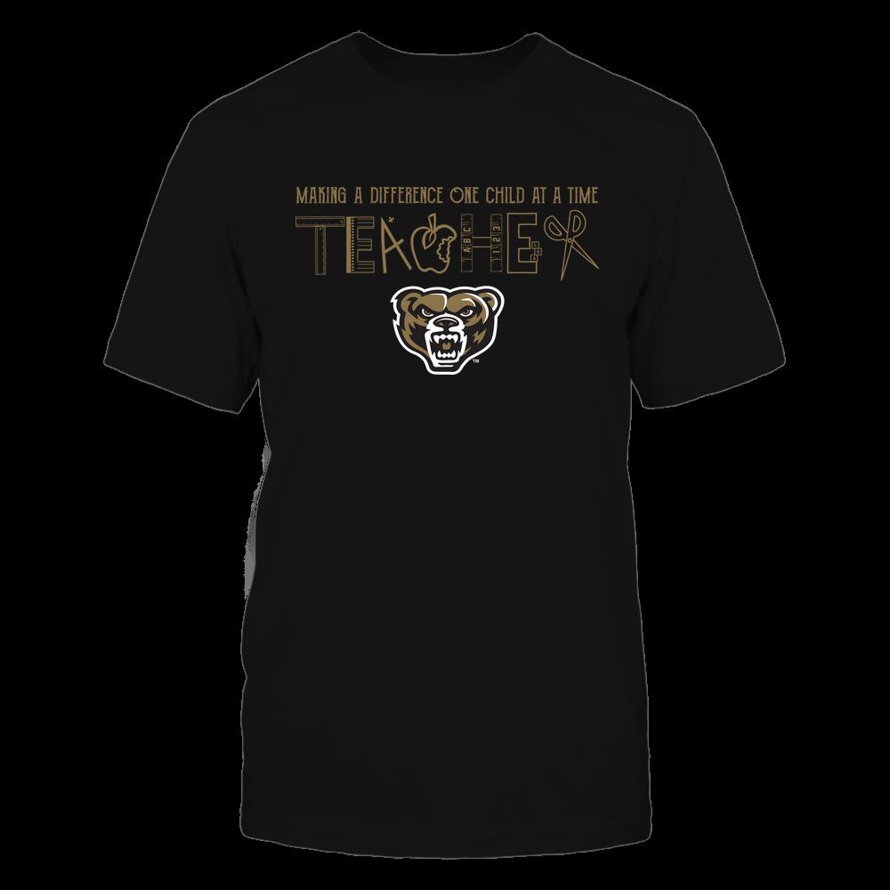 Oakland Golden Grizzlies - Teacher Logo - Team Front picture