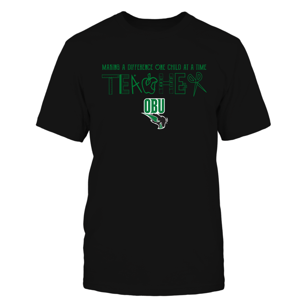 Oklahoma Baptist Bison - Teacher Logo - Team Front picture