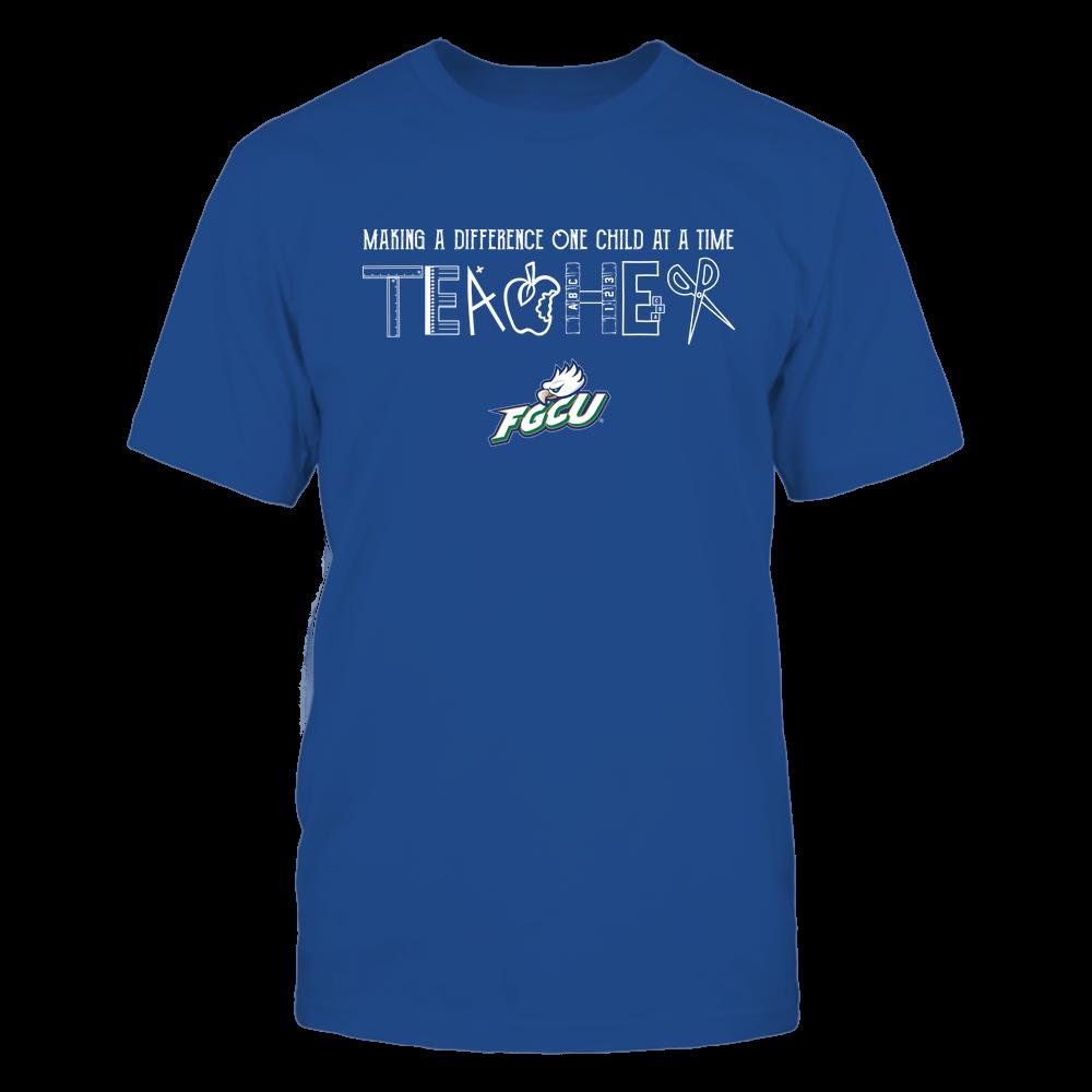 Florida Gulf Coast Eagles - Teacher Logo - Team Front picture