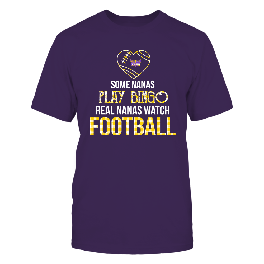 Tennessee Tech Golden Eagles - Real Nanas Watch Football - Bingo Front picture