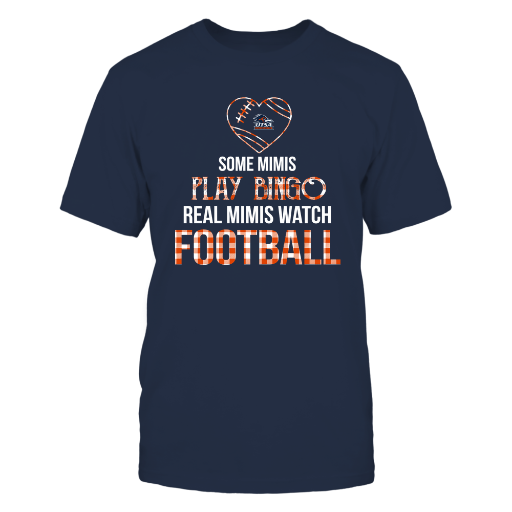 UTSA Roadrunners - Real Mimis Watch Football - Bingo Front picture
