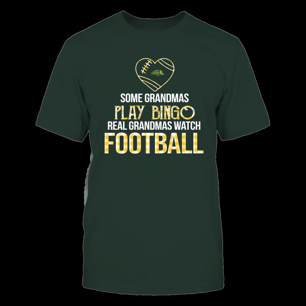 North Dakota State Bison - Real Grandmas Watch Football - Bingo Front picture